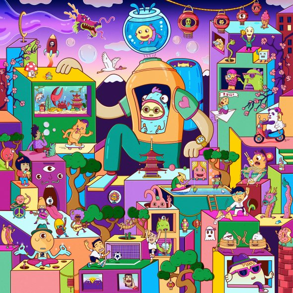 Happy Bubble City